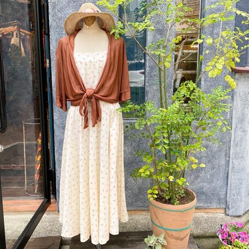 70's〜 小花柄 キャミソールワンピース