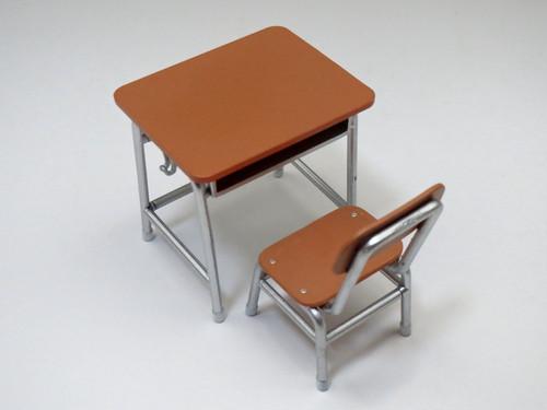 再入荷 ねんどろいどプレイセット #01 スクールライフAセット 机と椅子