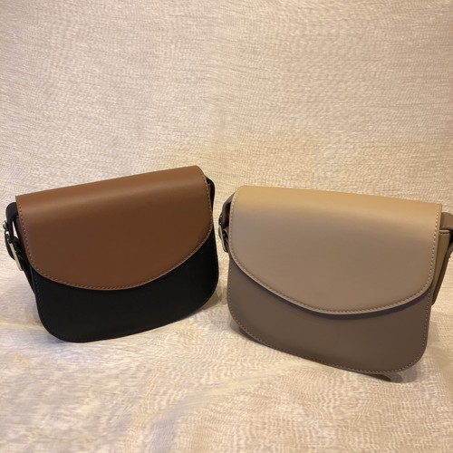 half moon shoulder bag black