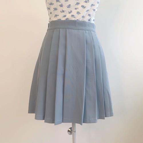 【即納】シンプルプリーツスカート
