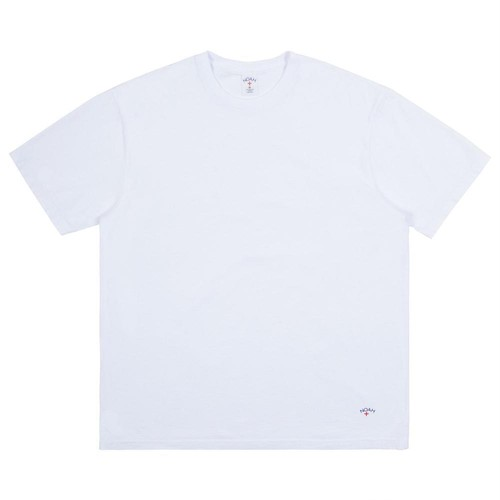 Recycled Cotton Tee(White)