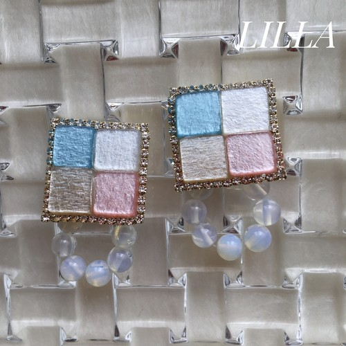 【2way】 multicolored tile