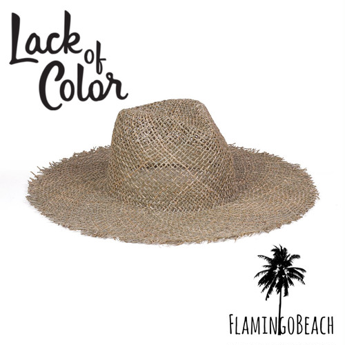 限定販売【Lack of Color】Sunnydip Fray Fedora ラックオブカラー