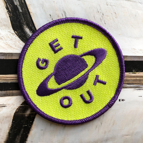 "dontreallycare""GET OUT PATCH"""
