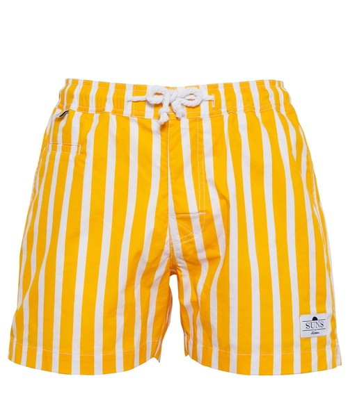 SUNS PLAIN STRIPE SWIM SHORTS[RSW032]