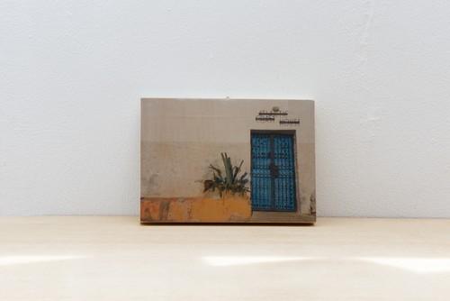 Wood Panel Morocco #2 _ A5