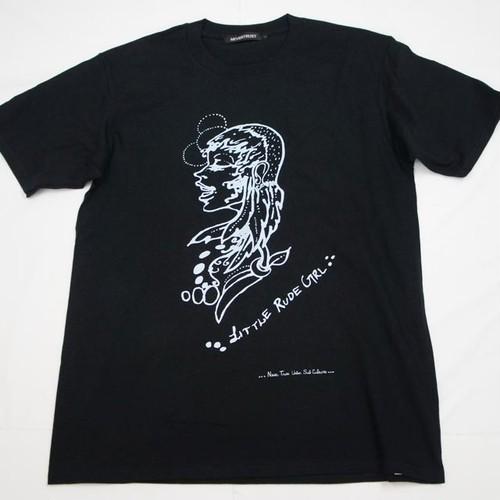 LITTLE RUDE GIRL Tシャツ BLACK