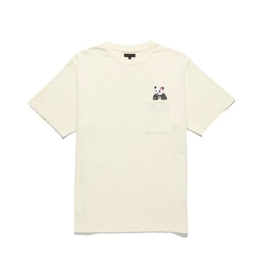 CLOT POCKET PANDA TEE / OFF WHITE