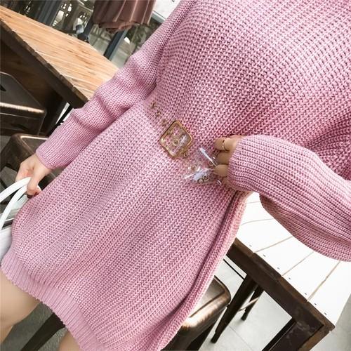 34.ニットワンピース(ピンク)