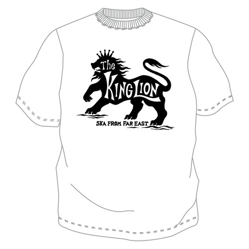 New!! The KING LION Tシャツ No.9 (WB)