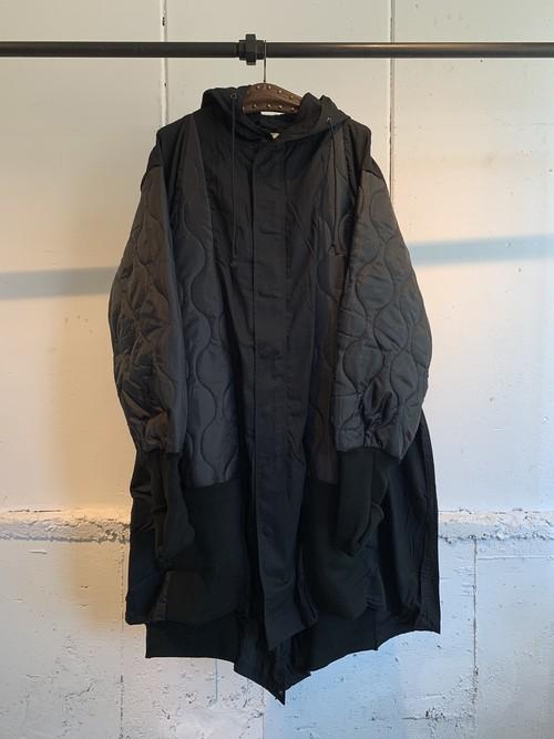 77circa   circa make triangle switching m-51 coat (black)