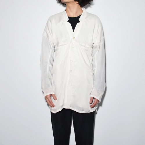 All Matching - Shirt Jacket 〈 white 〉
