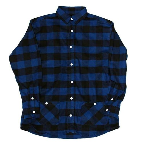 Pocket Block Check Shirt