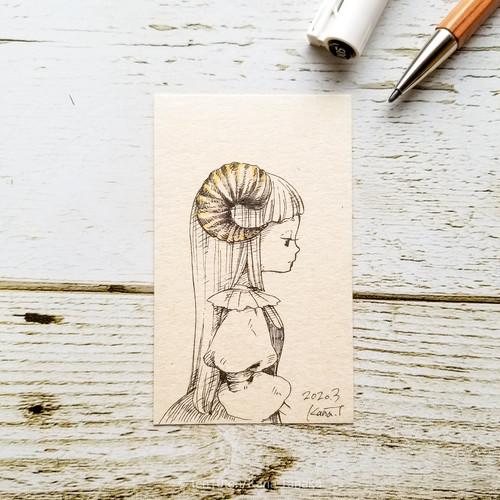 角の魔女*ドローイング