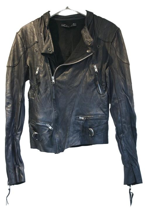 HORACE Classic Leather Biker Jacket クラシック レザー バイカー ジャケット / BLACK 50%OFF