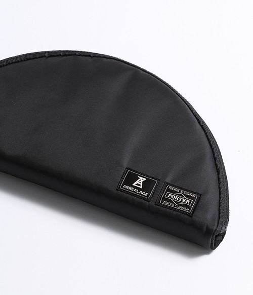 ANREALAGE×PORTER CIRCLE CASE (BLACK)