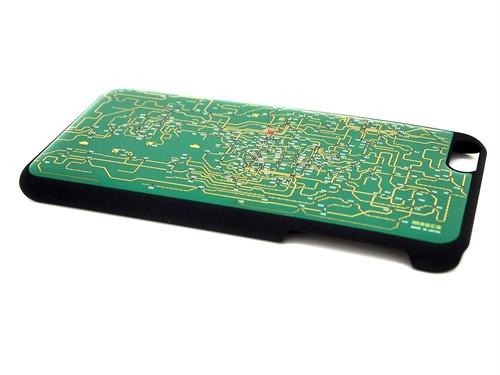 関西回路線図 iPhone6/6s  Plus ケース 緑【LEDは光りません】【東京回路線図A5クリアファイルをプレゼント】