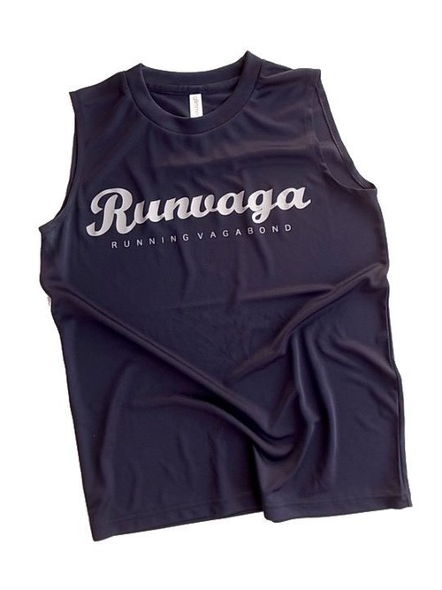 RUNNING VAGABOND T-SHIRT NAVY GRAY