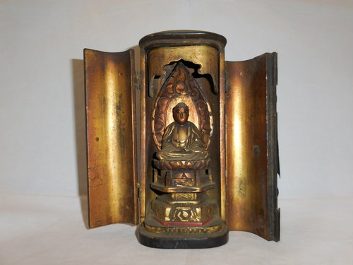 厨子入阿弥陀如来像  Amidah Tathagata(made in Japan)