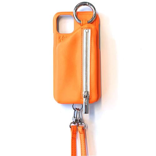 ajew cadenass zipphone zase shoulder NEON ORANGE