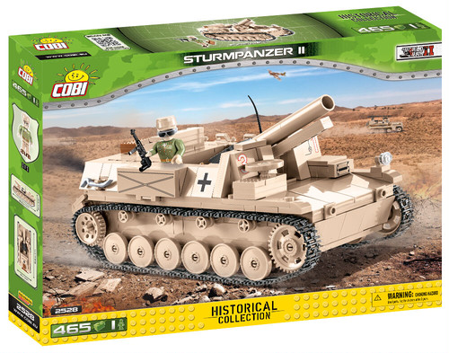 COBI #2528 Ⅱ号自走重歩兵砲 (Sturmpanzer Ⅱ)