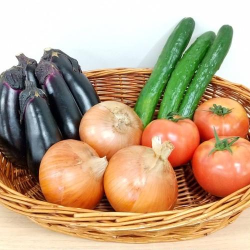 今月の横浜野菜4種×1セット(送料込み)