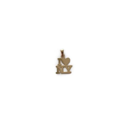 【14K-1-21】I♥︎NY 14K gold charms