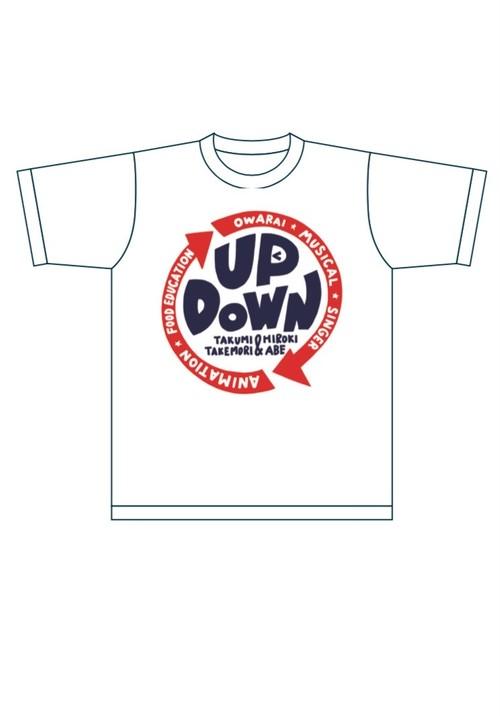 New!アップダウン☆オリジナルTシャツ(白)