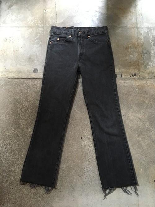 90s Levi's 517 black denim pants