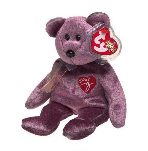 TY ビーニーベイビーズ クマ ぬいぐるみ Ty BEANIE BABIES 2000 SIGNATURE BEAR