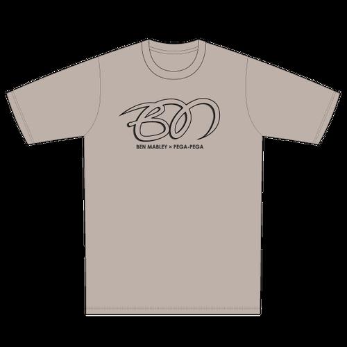 Ben Mabley × PEGA-PEGA  T-shirt Stone