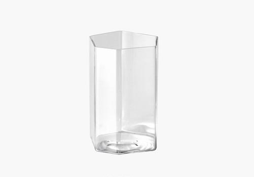 変形角柱グラス 小