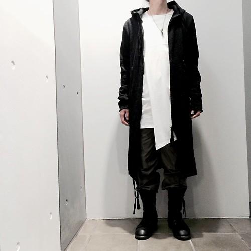 "【61%OFF】【by H.New York】""Shade"" Asymmetrical Layerd Long Sleeve (Wht)"