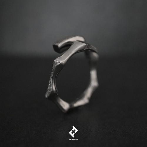 +bamboo・ring (black) (S)