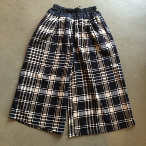 【slow hands スローハンズ】   flannel  culotte pants  サイズS