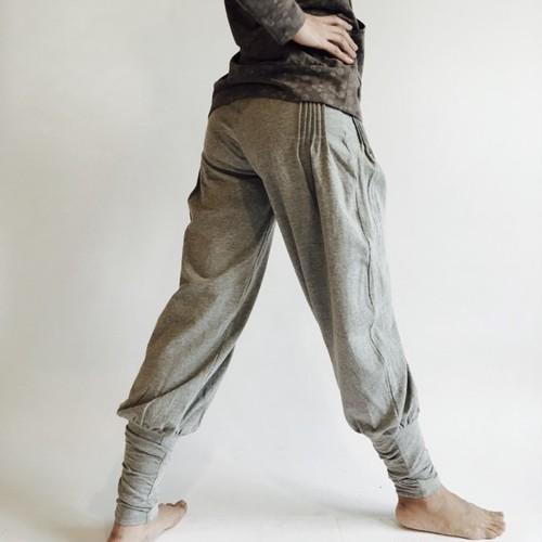 PemaYoga Nagini Pants Parti-gray colored ナギニパンツオリジナル 霜降グレイ