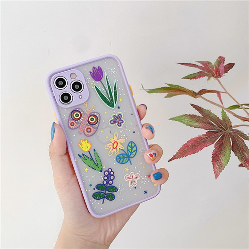 Flower butterfly iphone case