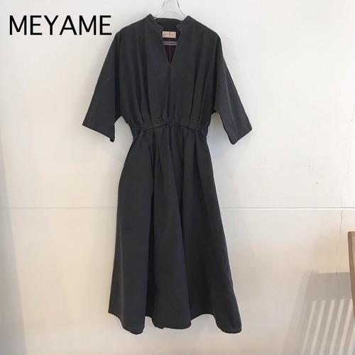 MEYAME/メヤメ・コットンドレス