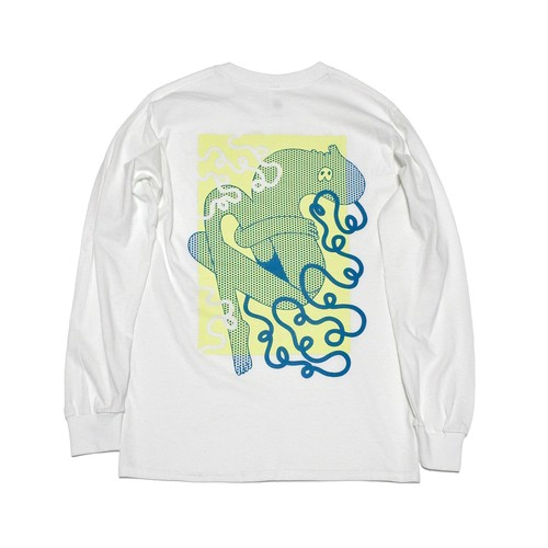 DAY OFF Long Tee / WHITE