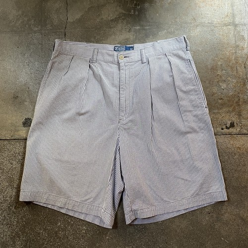00s Polo Ralph Lauren Seersucker  Shorts