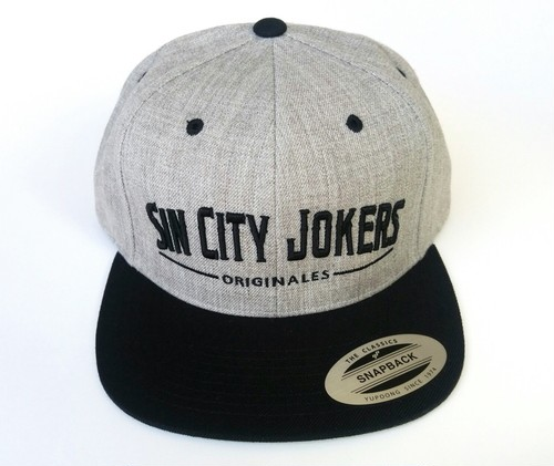 SCJ Originales Snapback  【Black×Light Heather】