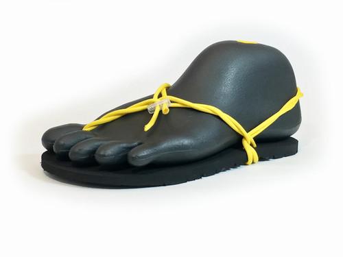 ワラーチ (Huaraches) Black × Yellow