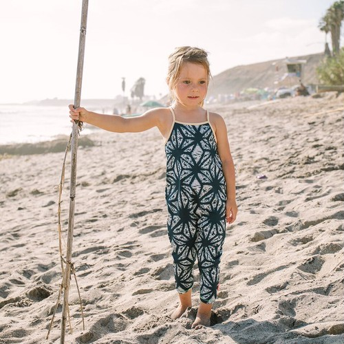 【mini seea】Chimi Kids Jumpsuit - Daya