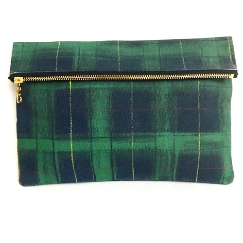 Tartancheck Clutch Bag 《b》