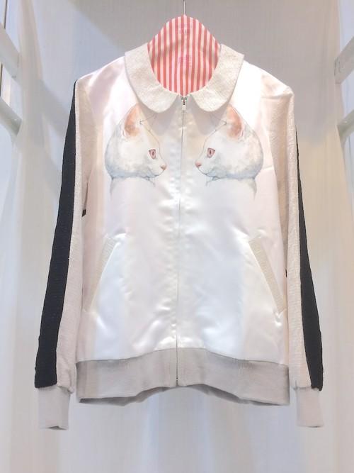 MELANTRICK HEMLIGHET ホワイト&ブラックジャケット