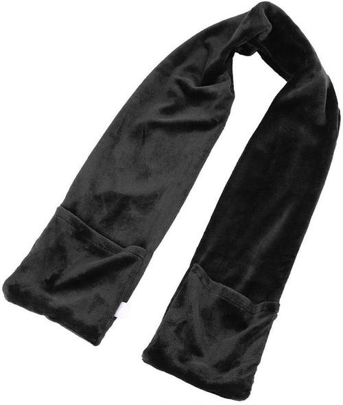 USB 電気ブランケット 電熱マフラー 冬暖かい 暖房マフラー 充電式 ヒートマフラー ポケット 付き 男女兼用