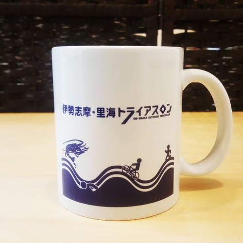 【志摩トラ】オリジナル マグカップ(伊勢志摩・里海トライアスロン限定)