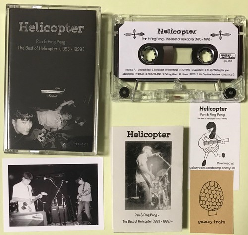"gal-058 Helicopter  ""Pan & Ping Pong - The Best of Helicopter (1993 - 1999) - """