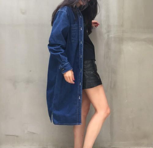 80's Calvin Klein denim dress