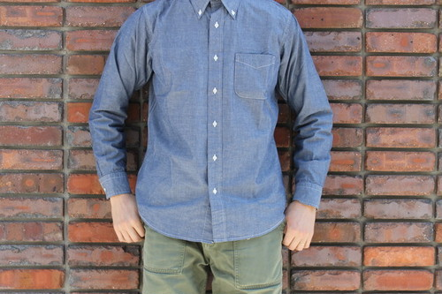 WORKERS / Lt Modified BD Dress Chambray